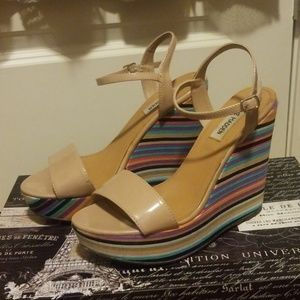 Steve Madden Colorful Wedge Heels